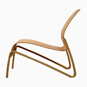 Nandin Plywood Lounge Chair by Hans Peter Weidmann for Artek, 1990s