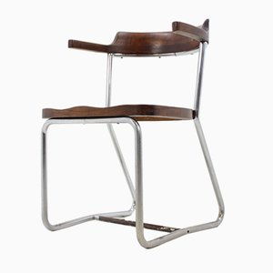 Bauhaus Model K16 Chrome Chair from Slezak, 1930s