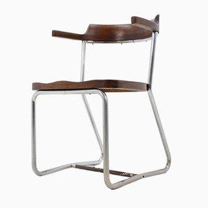 Bauhaus Modell K16 Chair aus Chrom von Slezak, 1930er