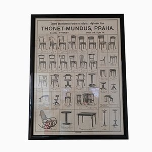 Thonet Furniture Poster, 1926