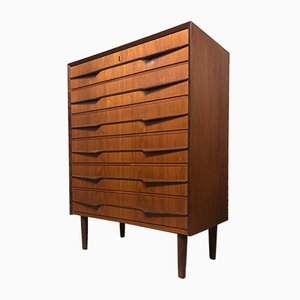 Mid-Century Danish Teak Chest of Drawer, 1960s