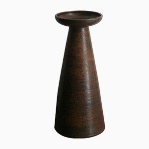 Hohe Keramikvase von Rudi Stahl, 1960er