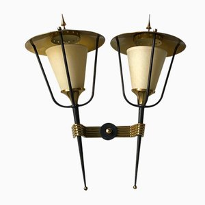 Wall Sconce from Arlus, 1950s