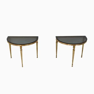 Tables Demi-Lune, Allemagne, 1960s, Set de 2