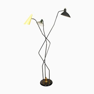 Triennial Floor Lamp, 1950s