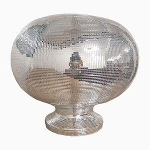 Vintage Mosaic Covered Sculptural Ice Bucket
