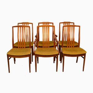 Mid-Century Dining Chairs from Beithcraft, Set of 6