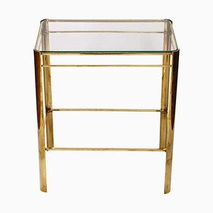Vintage Bronze Tisch von Jacques Quinet für Malabert