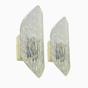 Chandeliers Vintage en Plexiglas, Set de 2