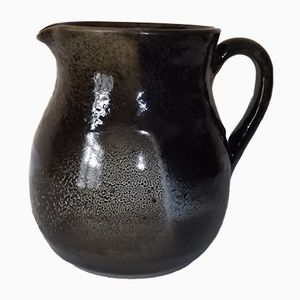 Sandstone Jug by Roland Zobel for Les Cyclades Anduze, 1950s