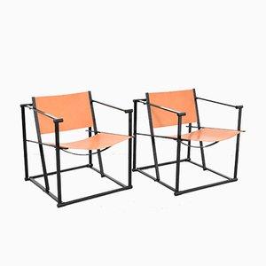 Model FM61 Lounge Chairs by Radboud van Beekum for Pastoe, 1980s, Set of 2