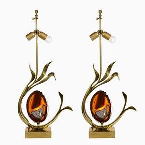 Basi per lampade da tavolo scultoree di Willy Daro, set di 2