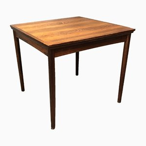 Mid-Century Danish Extendable Palisander Dining Table by Poul Hundevad, 1960s