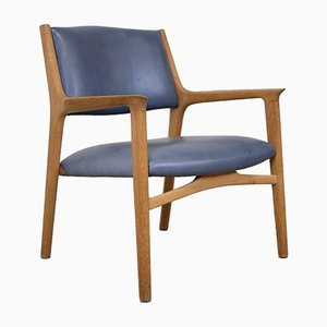 Oak Armchair by Hans J. Wegner for Johannes Hansen, 1960s