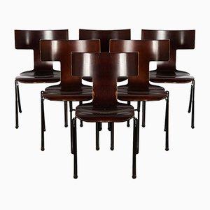 Modell Anziano Stühle von John Hutton für Donghia, 1980er, 6er Set
