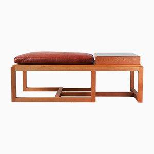 Panca e tavolino MergeTable di Richard Lowry