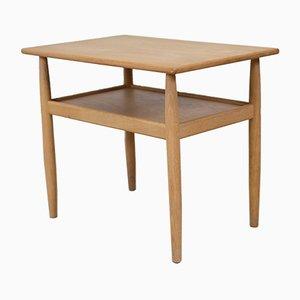 Mid-Century Danish Oak Side Table from Vitzé