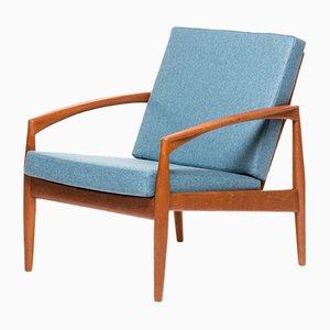 Dänischer Vintage Paper Knife Chair von Kai Kristiansen für Magnus Olesen, 1950er