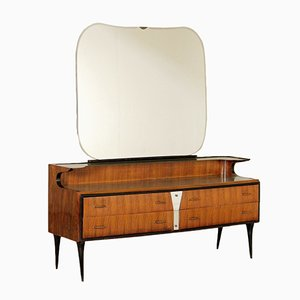 Vintage Vanity Chest with Mirror