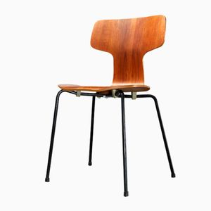 Teak 3103 Hammer Chair by Arne Jacobsen for Fritz Hansen, 1967