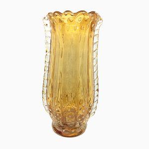 Vaso vintage in vetro di Murano, anni '70