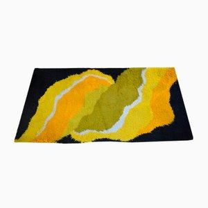 Alfombra multicolor, años 60