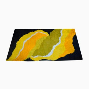 Tappeto multicolore, anni '60