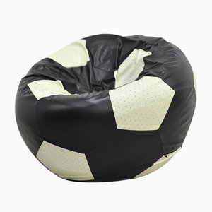 VIP Football Leather Lounge Chair by Edwin Niekel & Taco Regtien for Leolux, 2005