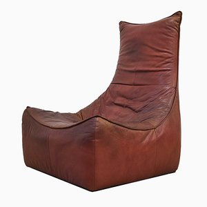The Rock Leather Lounge Chair by Gerard van den Berg for Montis, 1970s