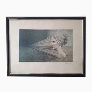 The Dimension of the Dream Lithographie von Jose Maria Subirachs, 1987