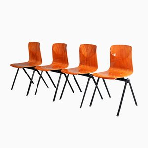 Mid-Century Chairs from Galvanitas, Set of 4