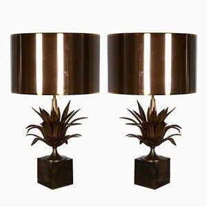 Tischlampen von Maison Charles, 1970er, 2er Set