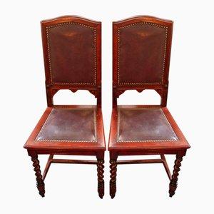 Stühle, 1880er, 2er Set