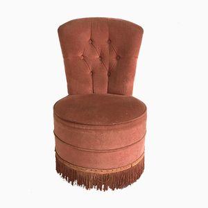 Kleiner Vintage Sessel in Rosa