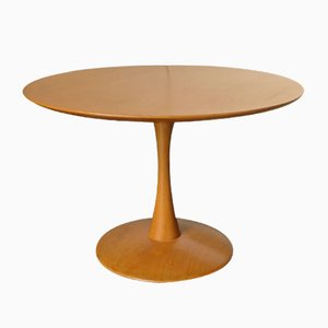 Vintage Toadstool Table by Nanna Ditzel for Kolds Savværk, 1960s
