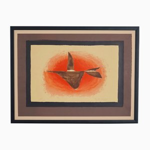 Au Couchant Lithograph by George Braque, 1958