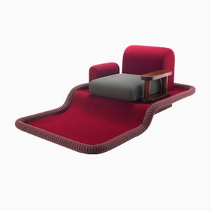 Tappeto Volante Lounge Chair by Ettore Sottsass for Bedding Brevetti, 1970s