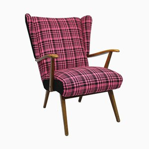 Vintage Wingback Lounge Chair