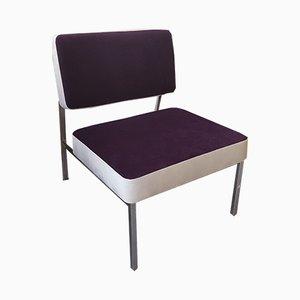 Velvet Side Chair, 1970s