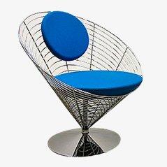 Chaise Wire Cone par Verner Panton pour Fritz Hansen