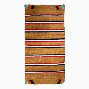 Handmade Native American Navajo Baby Blanket, 1900s