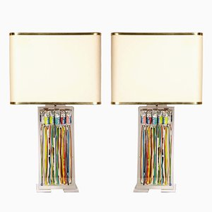 Table Lamps by Maison Roméo, 1970s, Set of 2