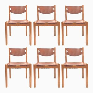 Dining Chairs, 1980s, Set of 6