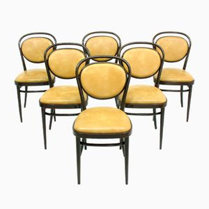 Vintage Model 215 Chairs from Thonet, Set of 6
