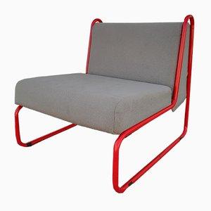 Sessel aus Stahlrohr, 1970er