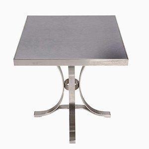 Vintage Stahl Tisch von Maison Jansen