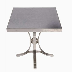 Vintage Steel Table from Maison Jansen