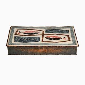 Danish Enameled Box, 1960s