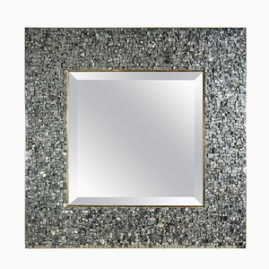 Vintage Pyrites Mirror by Georges Mathias