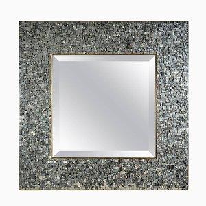 Vintage Pyrites Mirror by Georges Mathias